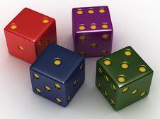 Free Playing Bones Stock Image - 20064071