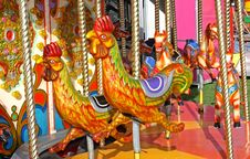 Free Carousel Ride. Royalty Free Stock Images - 20064689
