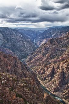 Free River In Black Canyon Of The Gunnison Park, CO Royalty Free Stock Photos - 20064698