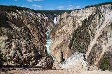 Free Grand Canyon Of The Yellowstone, WY Stock Photography - 20064702