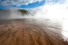 Free Grand Prismatic Spring, Yellowstone, WY Stock Photos - 20064893