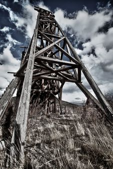Free Old Gold Mine In Colorado Stock Photo - 20064980