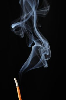 Free Incense Stick With Smoke Royalty Free Stock Photography - 20065447