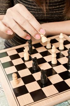 Free Playing Chess Stock Photo - 20065770
