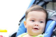 Free Baby Is Happy And Cheerful Smile Royalty Free Stock Images - 20066929