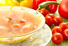 Free Tomato Soup Stock Images - 20067834