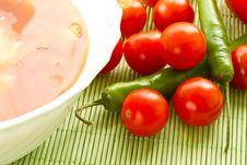 Free Tomato Soup Stock Photography - 20067882
