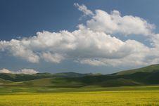 Free Castelluccio Landscape Stock Images - 20067964