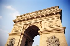 Free Triumphal Arch Royalty Free Stock Photos - 20068428