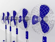 Free Electric Fan Blower Stock Photos - 20068713