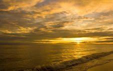 Free Sunset, Sea Royalty Free Stock Photos - 20068748