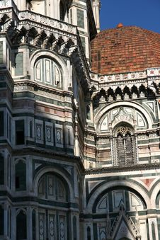 Free Florence Cathedral Detail Stock Photography - 20068932