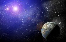 Free Planet In Space Stock Images - 20068964