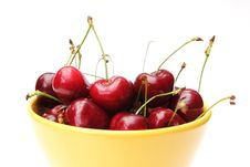 Free Dish Of Cherries Royalty Free Stock Images - 20069889