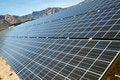 Free Solar Panels In The Mojave Desert. Stock Images - 20071824