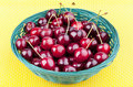 Free Fresh Picked Organic Cherries Royalty Free Stock Photography - 20074927