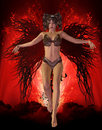 Free Dark Angel Royalty Free Stock Photos - 20077098