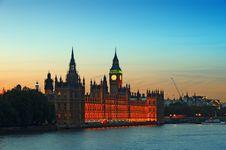 Free Houses Of Parliament, Lonodon. Stock Image - 20070341