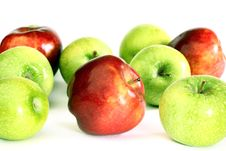 Free Red And Green Apples Royalty Free Stock Images - 20070869