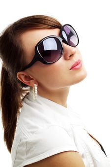 Free Girl In Sunglasses Stock Images - 20070954