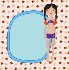 Free Summer Background Stock Image - 20072341