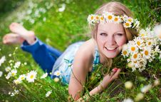 Free Pretty Young Woman Stock Photo - 20074200