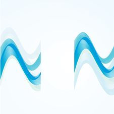 Free Wavy Abstract Background Stock Image - 20074231