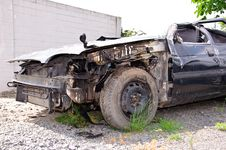 Free Car Wreck. Royalty Free Stock Images - 20074799