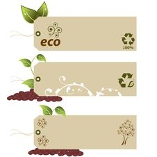 Free Eco Tags With Copyspace Royalty Free Stock Images - 20075189