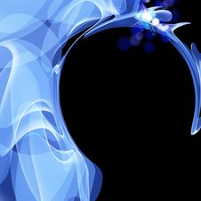 Free Abstract Background Blue Concept Stock Photography - 20075312