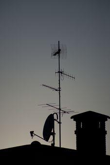 Free Antenna 2 Royalty Free Stock Photo - 20075625