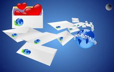 Free Mail. Royalty Free Stock Photos - 20075658