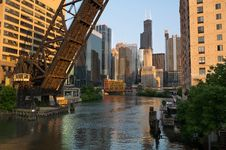 Free Colorful City Of Chicago Royalty Free Stock Photography - 20075957