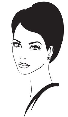 Free Beauty Woman Face Icon Royalty Free Stock Photos - 20076158