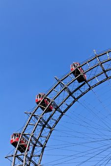 Free Segment Of Vienna S Ferris Wheel Stock Images - 20076454