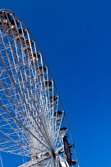Free Ferris Wheel In White Stock Images - 20076474