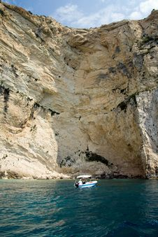 Free Zakynthos Clifs Stock Photography - 20076722