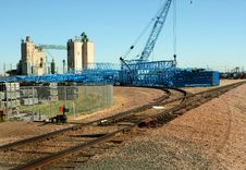 Free Crane Stockyard Royalty Free Stock Images - 20076739
