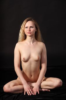 Naked Woman Royalty Free Stock Photo