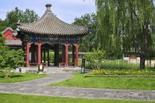 Free Summer Palace Chineses Pavilion Stock Photography - 20077322