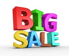 Free Big Sale - 3d Render Stock Photos - 20077403