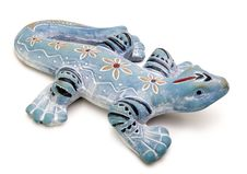 Free Blue Lizard Stock Image - 20077681