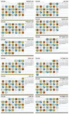 Free Mayan Calendar 2011 (European) Royalty Free Stock Photos - 20077798