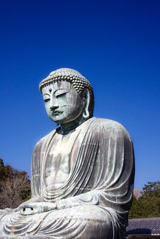 Free Statue Of The Buddha-2 Royalty Free Stock Images - 20077969