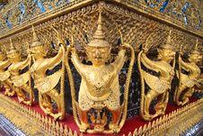 Free Wat Phra Kaeo Grand Palace Stock Photography - 20078362