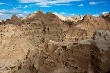 Free Sandstone In Badlands, South Dakota Stock Photo - 20078470