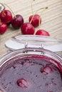 Free Homemade Cherry Jam Stock Images - 20089724
