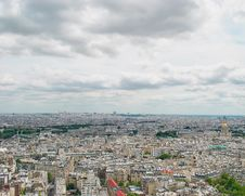 Free Panorama Of Paris Stock Photo - 20080110