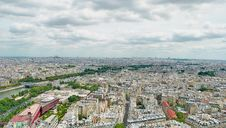 Free Panorama Of Paris Stock Image - 20080131