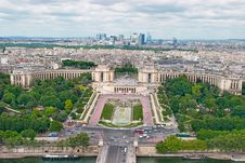 Free Panorama Of Paris Stock Photography - 20080152